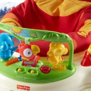 Peekaboo Ibiza baby equipment hire jumperoo