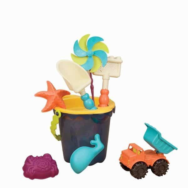 Peekaboo Ibiza babyartikelen verhuur baby strandspeelgoed