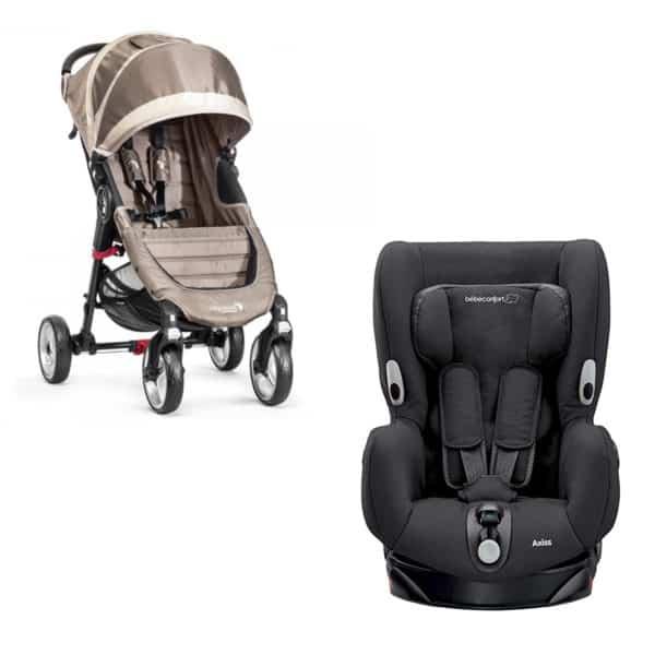 Babyspullen huren Ibiza autostoeltje en buggy