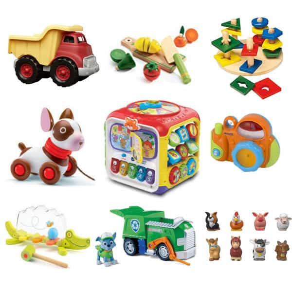 Peekaboo Ibiza toddler toy package rent
