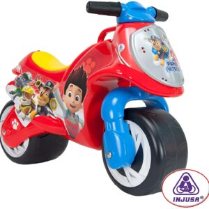 Baby equipment rental Ibiza Paw Patrol motorcycle