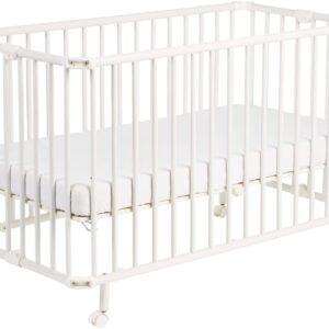 Ibiza baby equipment hire wooden cot